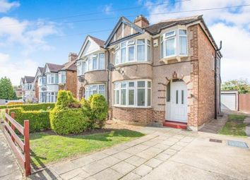 Thumbnail 3 bedroom semi-detached house for sale in Lincoln Close, Greenford, Greater London, Middlesex