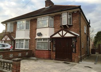 Thumbnail 3 bed semi-detached house for sale in Milford Gardens, Edgware