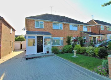 Thumbnail Semi-detached house for sale in Herrick Close, Crawley, West Sussex.