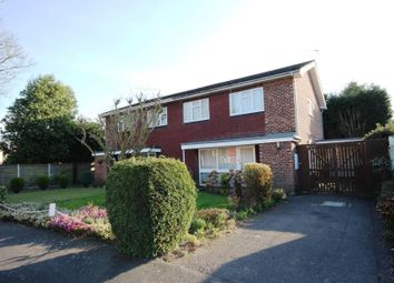 Thumbnail 4 bed semi-detached house to rent in Crockford Close, Addlestone