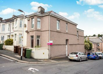 Thumbnail 4 bed end terrace house for sale in Furzehill Road, Mutley, Plymouth