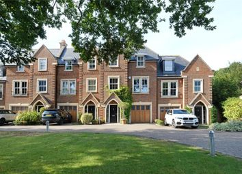Thumbnail 5 bed terraced house for sale in Larchfield Close, Weybridge, Surrey