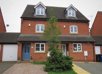 Thumbnail 3 bed town house for sale in Bowling Green Road, Uttoxeter