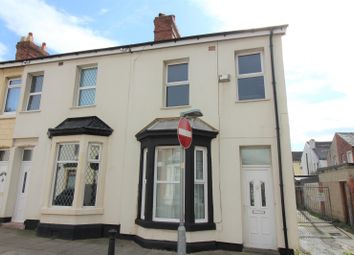 Thumbnail 4 bed end terrace house for sale in Rydal Avenue, Blackpool