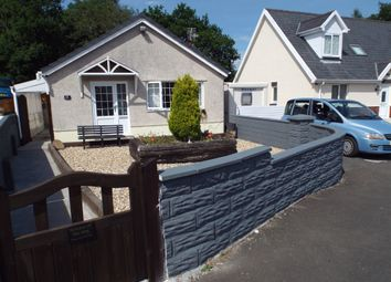 Thumbnail 3 bed detached bungalow for sale in Uwch Gwendraeth, Drefach, Llanelli, Carmarthenshire