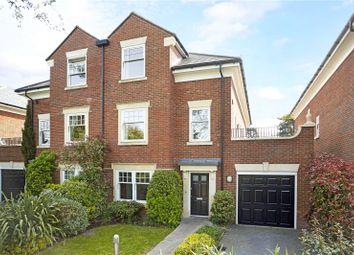 Thumbnail 4 bed semi-detached house for sale in Grange Court, Old Avenue, Weybridge, Surrey