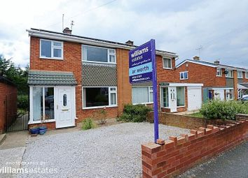 Thumbnail 3 bed semi-detached house for sale in Willow Crescent, Connah's Quay, Deeside