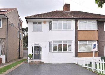 Thumbnail 3 bed semi-detached house to rent in Oakdene Avenue, Chislehurst