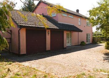 Thumbnail 4 bed detached house for sale in Brettenham, Ipswich, Suffolk