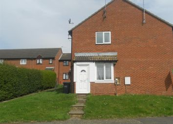 Thumbnail 1 bedroom end terrace house to rent in Senwick Drive, Wellingborough