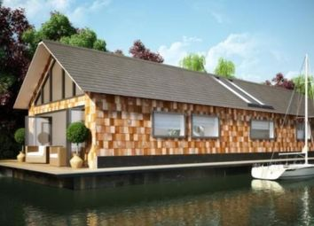 Thumbnail 2 bed houseboat for sale in Hampton Court Road, East Molesey