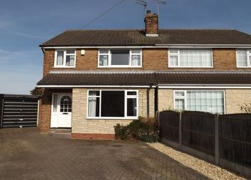 Thumbnail 3 bed property to rent in Rossmoor Close, Auckley, Doncaster