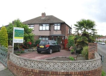 Thumbnail 3 bedroom semi-detached house for sale in South Mossley Hill Road, Grassendale, Liverpool