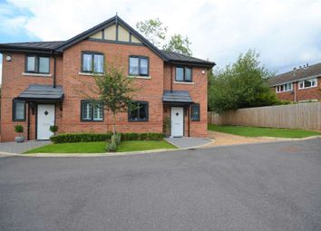 Thumbnail 3 bed semi-detached house for sale in The Race, Handforth, Wilmslow