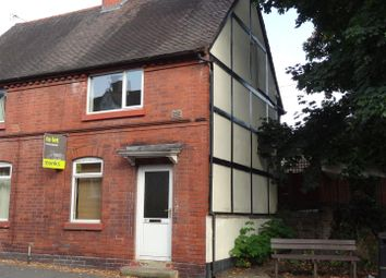 Thumbnail 2 bed end terrace house to rent in Coton Hill, Shrewsbury