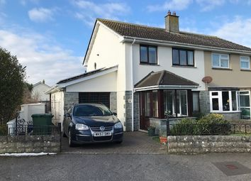 Thumbnail 4 bed semi-detached house for sale in Tresdale Parc, Connor Downs, Hayle