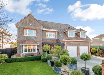Thumbnail 5 bed detached house for sale in Knappswood Close, Upper Basildon, Reading