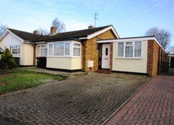 Thumbnail 3 bed semi-detached bungalow to rent in Lakefield Avenue, Toddington, Dunstable