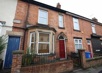 Thumbnail 2 bed terraced house for sale in Cowley Street, Derby