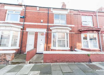 Thumbnail 2 bed terraced house for sale in Milton Road, Hartlepool