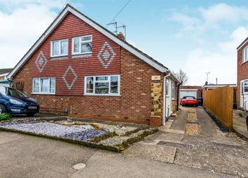 Thumbnail 2 bed semi-detached house for sale in Mallory Walk, Northampton