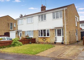 Thumbnail 3 bed semi-detached house for sale in Abbey Close, Bozeat, Northamptonshire