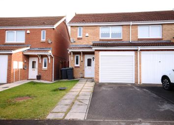 Thumbnail 2 bedroom semi-detached house to rent in The Chequers, Consett, County Durham