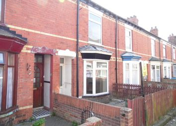 Thumbnail 2 bedroom terraced house to rent in Brougham Street, Hull