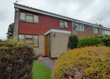 Thumbnail 3 bed end terrace house to rent in Leahurst Crescent, Harborne, Birmingham