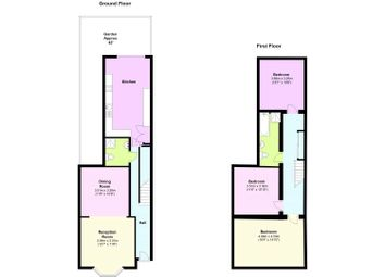 Thumbnail 3 bed terraced house for sale in Davenport Road, London