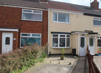 Thumbnail 2 bed terraced house for sale in Grove Crescent, Grimsby