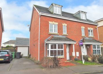 Thumbnail 4 bed semi-detached house for sale in Lincoln Way, North Wingfield, Chesterfield