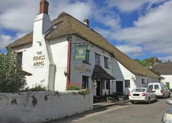 Thumbnail Pub/bar for sale in The Kings Arms, Fore Street, Winkleigh, Devon