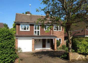 Thumbnail 4 bed detached house to rent in St. Johns Rise, Woking