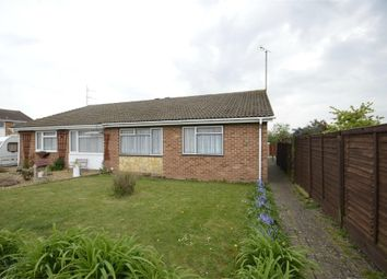 Thumbnail 2 bed semi-detached bungalow for sale in Langham Road, Raunds, Northamptonshire