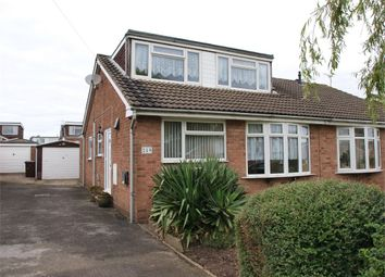 Thumbnail 3 bed semi-detached bungalow for sale in Fairham Road, Stretton, Burton-On-Trent, Staffordshire