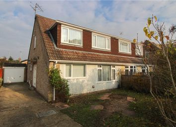 Thumbnail 3 bed semi-detached house for sale in Bartons Drive, Yateley, Hampshire