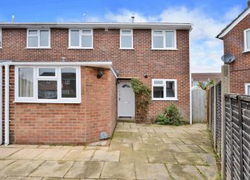 Thumbnail 4 bed end terrace house to rent in Romsey Close, Blackwater, Camberley, Surrey