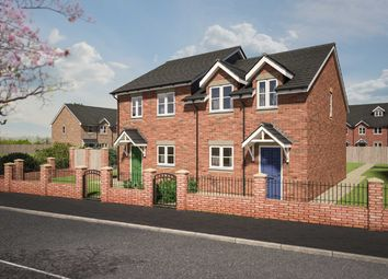 Thumbnail 3 bed semi-detached house for sale in Kerry, Newtown, Powys