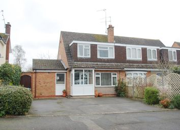 Thumbnail 3 bed semi-detached house for sale in Newport Drive, Alcester