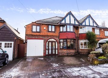 Thumbnail 4 bed semi-detached house for sale in Beeches Drive, Erdington, Birmingham