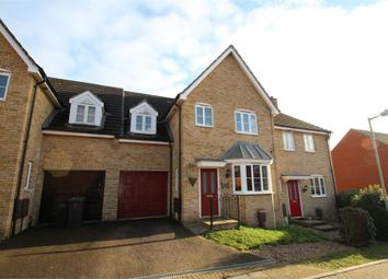 Thumbnail 4 bedroom terraced house for sale in Plover Close, Stowmarket, Suffolk