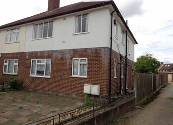Thumbnail 2 bed maisonette to rent in Nutfield Gardens, Northolt, Middlesex