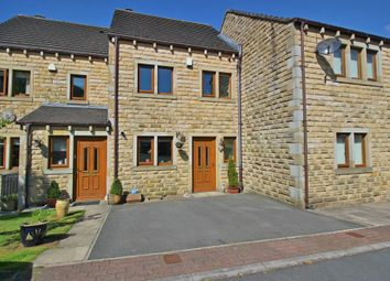 Thumbnail 3 bed terraced house for sale in Deer Hill Drive, Marsden, Huddersfield