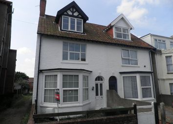 Thumbnail 2 bedroom flat for sale in Cliff Road, Sheringham