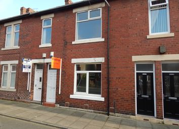 Thumbnail 2 bed flat to rent in Berwick Terrce, North Shields