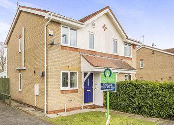 Thumbnail 2 bedroom semi-detached house for sale in Tom Paine Close, Thorpe Astley, Braunstone, Leicester