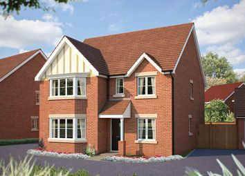 "Thumbnail 5 bed detached house for sale in ""The Oxford"" at Beverley Grove, Bedford"