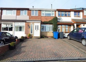 Thumbnail 3 bed terraced house to rent in Grange Road, Burntwood