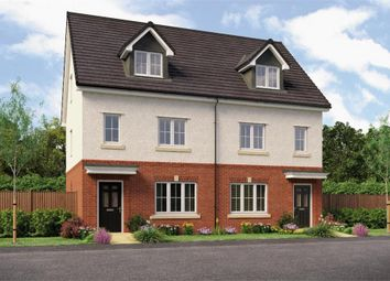 "Thumbnail 4 bedroom town house for sale in ""The Rolland"" at Backworth, Newcastle Upon Tyne"